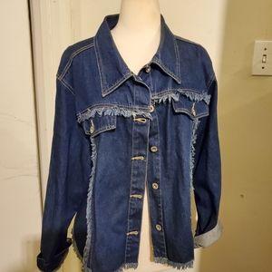 Ashley Stewart Denim Jacket, size 22W